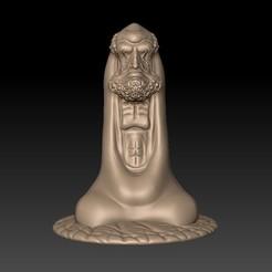 BodhidharmaB1.jpg Télécharger fichier STL gratuit Bodhidharma • Modèle à imprimer en 3D, stlfilesfree