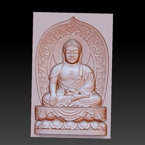 buddhaRRRRRT1.jpg Download free STL file buddha • 3D printer object, stlfilesfree