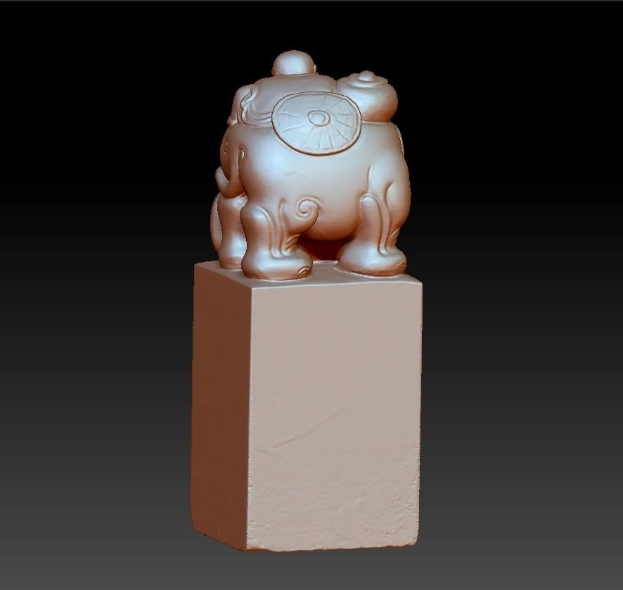 elephantsAndChild4.jpg Download free OBJ file elephant seal • 3D printing model, stlfilesfree