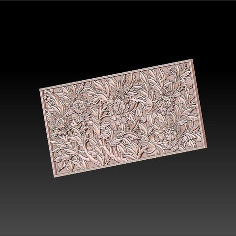 peony_pattern4.jpg Télécharger fichier STL gratuit pivoine • Plan imprimable en 3D, stlfilesfree