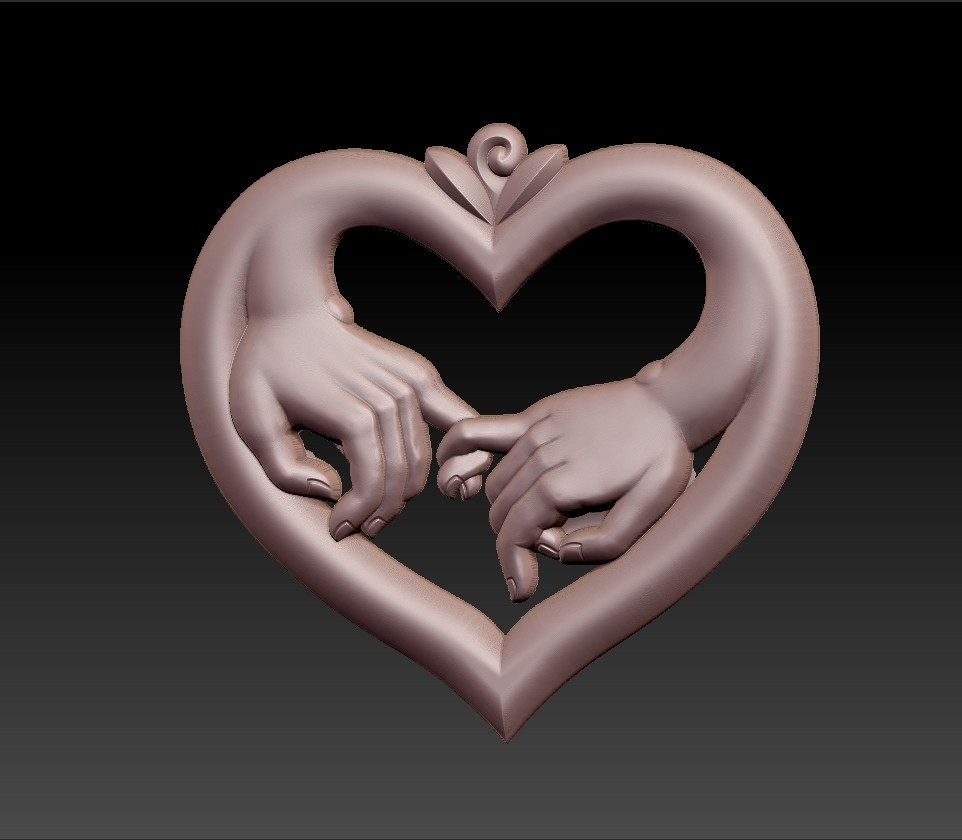 love_hands2.jpg Download free STL file hands of love • 3D printer model, stlfilesfree