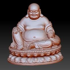 Maitreya1.jpg Télécharger fichier OBJ gratuit Bouddha Maitreya • Modèle à imprimer en 3D, stlfilesfree
