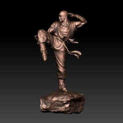 kungFu1.jpg Download free STL file Kung Fu • Model to 3D print, stlfilesfree