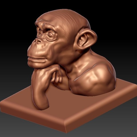 thinkingOrangutan2.jpg Download free STL file Along the River During the Qingming Festival • Model to 3D print, stlfilesfree