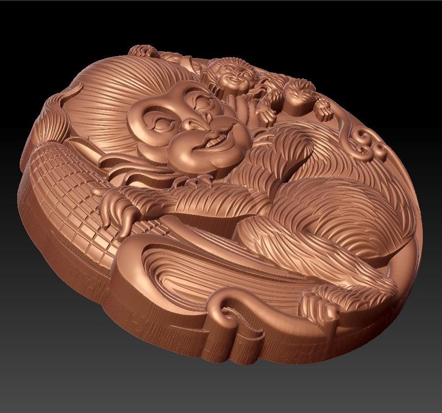 Monkeys3.jpg Télécharger fichier STL gratuit Singes • Plan pour imprimante 3D, stlfilesfree