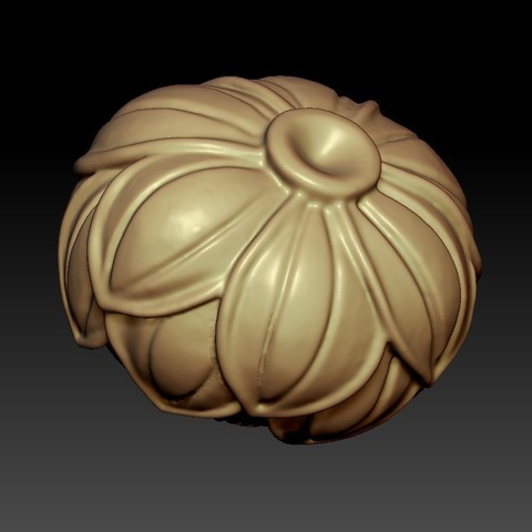 lotusFlower5.jpg Download free STL file lotus • 3D printing design, stlfilesfree
