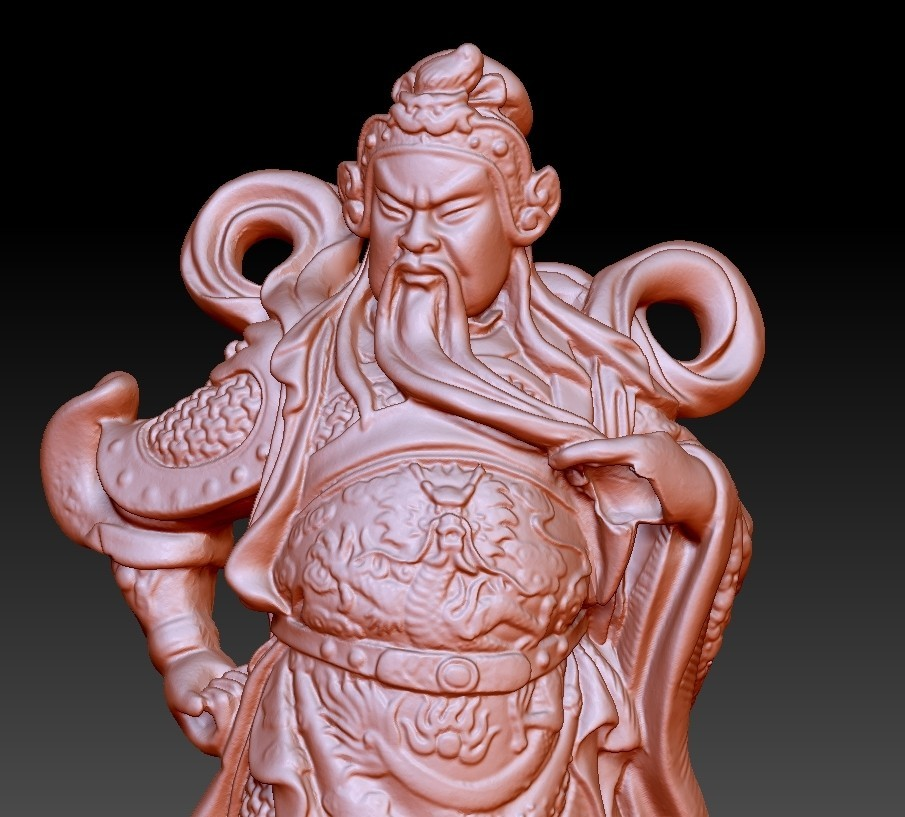 guangongA5.jpg Download free OBJ file Guan Gong  • Template to 3D print, stlfilesfree