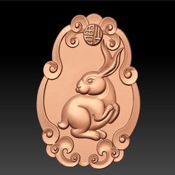 rabbit1.jpg Télécharger fichier STL gratuit lapin • Design pour impression 3D, stlfilesfree
