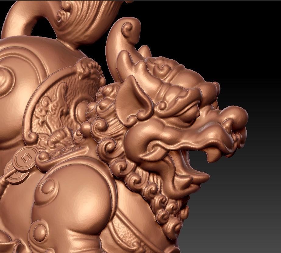 MythicalWildAnimal8.jpg Télécharger fichier STL gratuit Animal sauvage mythique • Design pour impression 3D, stlfilesfree