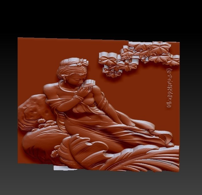 ChineseClassicalBeauty3.jpg Download free STL file Chinese classical beauty • 3D print model, stlfilesfree