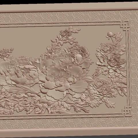 Peony_flowers3.jpg Download free STL file Peony flowers • 3D print design, stlfilesfree