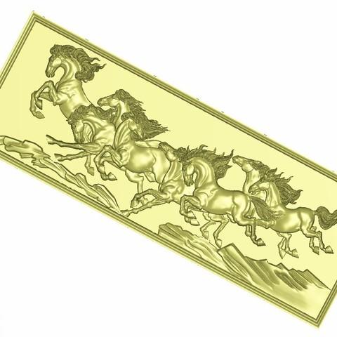 horse_c3.jpg Télécharger fichier STL gratuit modèles de secours de chevaux pour cnc • Modèle à imprimer en 3D, stlfilesfree