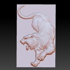 tigerhhh1.jpg Télécharger fichier STL gratuit tigre • Plan à imprimer en 3D, stlfilesfree