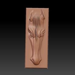 horse_head_artistic1.jpg Télécharger fichier STL gratuit tête de cheval • Design imprimable en 3D, stlfilesfree