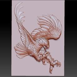 oneeagle1.jpg Télécharger fichier OBJ gratuit Aigle • Modèle imprimable en 3D, stlfilesfree