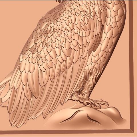 eagle7.jpg Download free STL file eagle  • 3D printing model, stlfilesfree