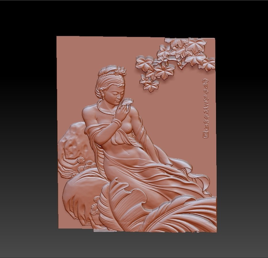 ChineseClassicalBeauty2.jpg Download free STL file Chinese classical beauty • 3D print model, stlfilesfree