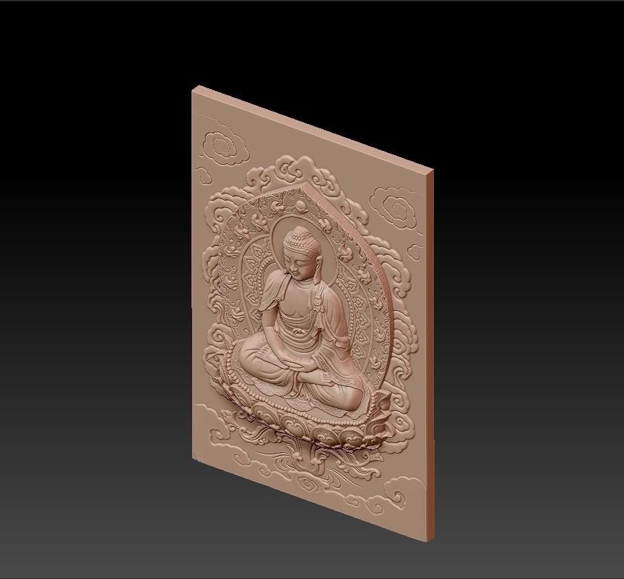 buddha_background3.jpg Télécharger fichier STL gratuit Bouddha • Design à imprimer en 3D, stlfilesfree