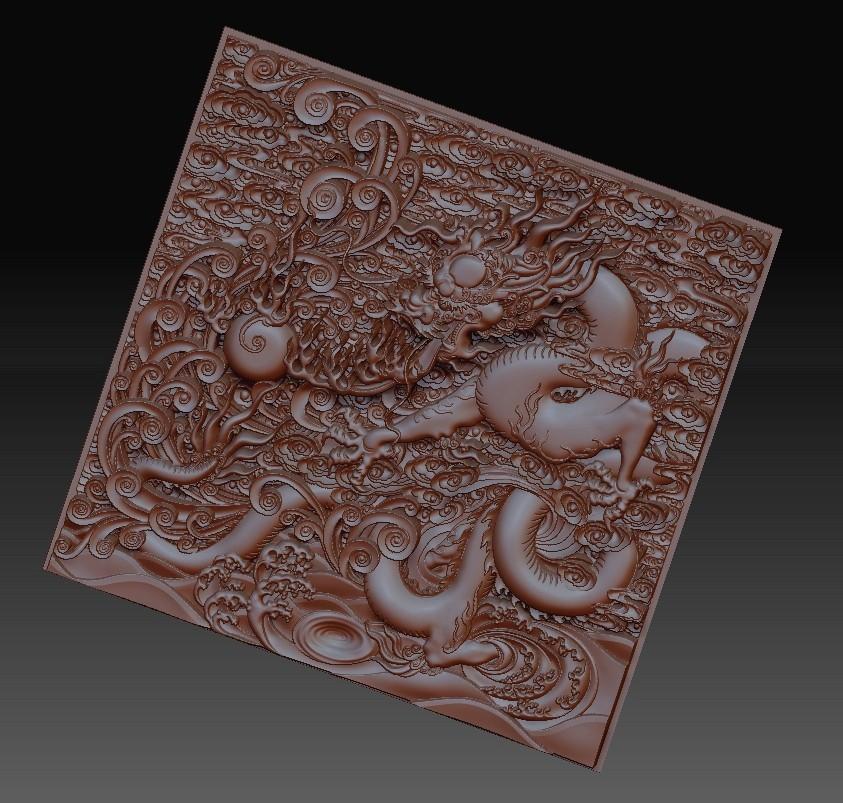 dragonOmClouds3.jpg Download free STL file dragon • 3D print object, stlfilesfree
