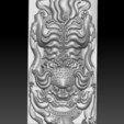 traditional_lion6.jpg Télécharger fichier STL gratuit Lion • Modèle imprimable en 3D, stlfilesfree