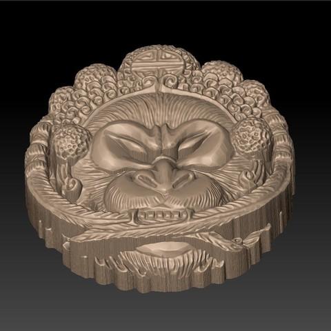 Opera_monkey4.jpg Télécharger fichier STL gratuit Singe • Design imprimable en 3D, stlfilesfree