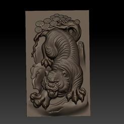BigTiger1.jpg Télécharger fichier STL gratuit tigre • Plan à imprimer en 3D, stlfilesfree