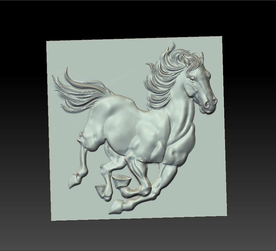 Running_horse2.jpg Télécharger fichier STL gratuit cheval de course • Objet pour imprimante 3D, stlfilesfree