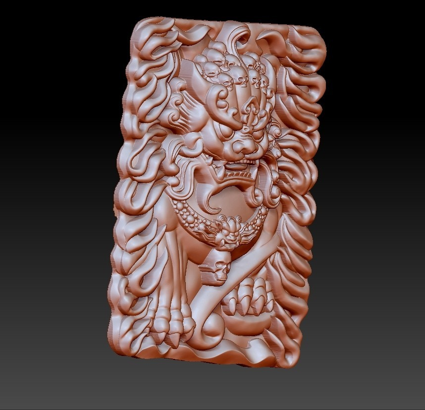 GuardianLion2.jpg Download free OBJ file guardian lions or Foo Dogs • Template to 3D print, stlfilesfree