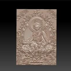 Thangka1.jpg Télécharger fichier STL gratuit Thangka peintures de bas-relief • Modèle pour impression 3D, stlfilesfree