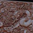 dragonOmClouds5.jpg Download free STL file dragon • 3D print object, stlfilesfree
