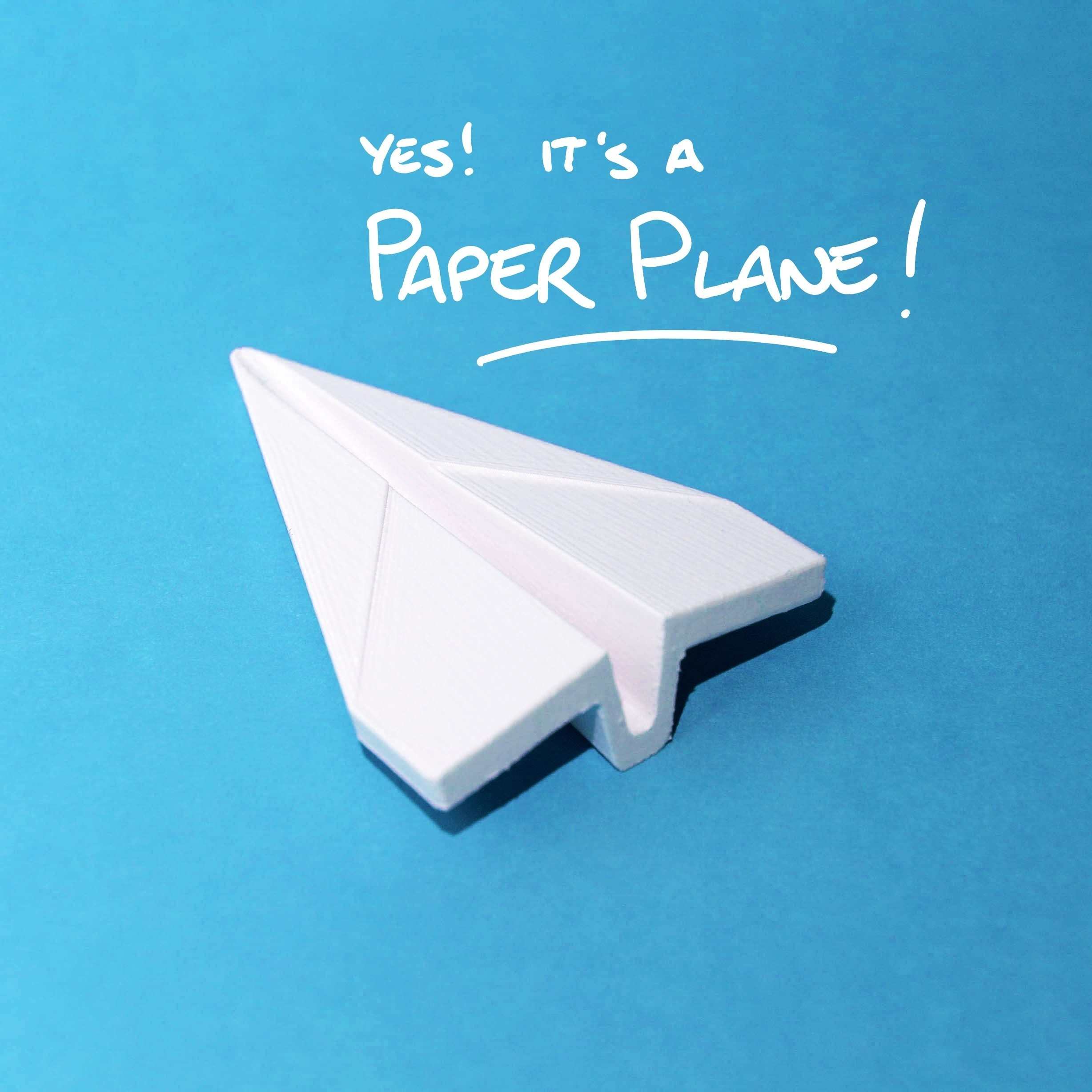 SAA_6608_LI.jpg Download free STL file Iconic Paper Plane (Stratomaker) • Object to 3D print, clockspring