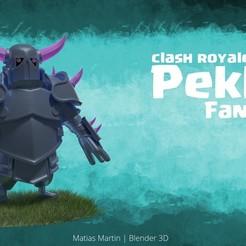 Modelos 3D Clash Royale - Pekka, madisonmartin1990
