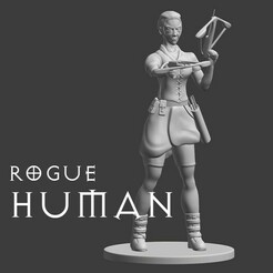 human rogue.jpg Download free STL file Human Explorer • 3D printer design, madisonmartin1990