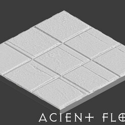 preview Acientfloor.jpg Download free STL file Floor tiles for role-playing games • Template to 3D print, madisonmartin1990