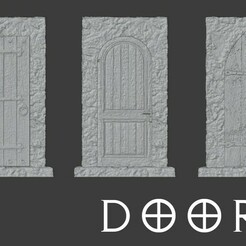 doors.jpg Download free STL file Doors for role games • 3D printer model, madisonmartin1990