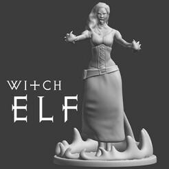 Witchelf.jpg Télécharger fichier STL gratuit Elfe de la sorcière • Design pour impression 3D, madisonmartin1990
