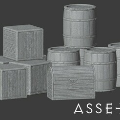 Assets.jpg Download free STL file Basic accessories for role games • 3D printable design, madisonmartin1990