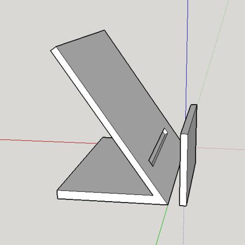 Free Business card holder 3D model, MystiCat