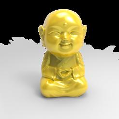 STL files Baby Buddha, little Buddha, D1Maker
