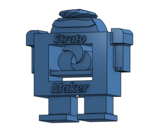 robostrat2_iso.jpg Download free STL file RoboStrat • 3D printable design, trhoward
