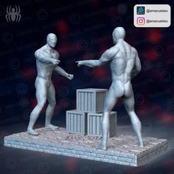 instagram1.jpg Download STL file Spiderman meme dioram • 3D printer template, emanuelsko