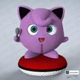 Descargar diseños 3D JIGGLYPUFF WOOLE, emanuelsko