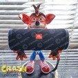 Descargar modelos 3D Crash Bandicoot hold Nintendo Switch, emanuelsko