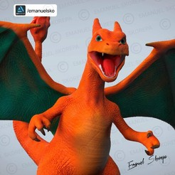 Descargar modelos 3D Charizard, emanuelsko