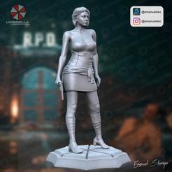Descargar archivo 3D JILL VALENTINE, emanuelsko