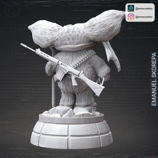 insta3.jpg Download STL file Gizmo Rambo • 3D printing design, emanuelsko
