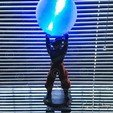 STL Lampe Goku Genkidama, emanuelsko