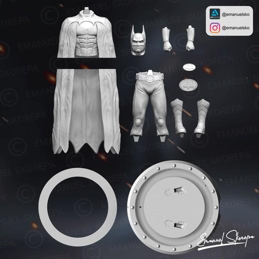 instagram5.jpg Download STL file BATMAN MICHAEL KEATON • 3D printable design, emanuelsko
