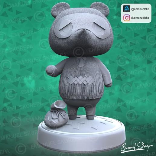 Download STL Tom Nook Animal Crossing, emanuelsko