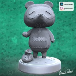 insta1.jpg Télécharger fichier STL Tom Nook Animal Crossing • Modèle pour imprimante 3D, emanuelsko